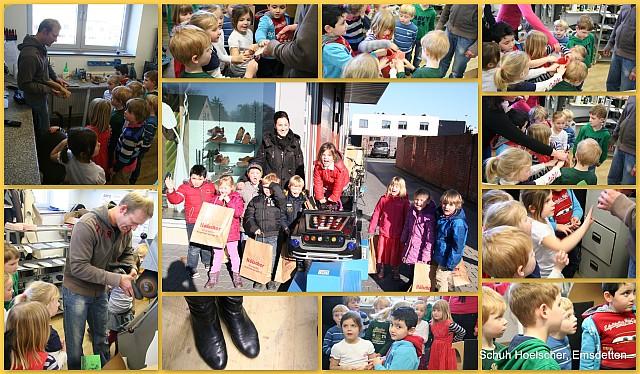 Kindergarten Besuch Schuh Hoelscher web